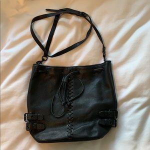 REBECCA MINKOFF - black bucket bag